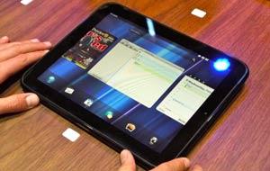 Pantalla de cambio de aplicaciones Hp Touchpad