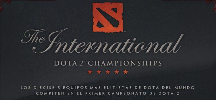 Banner sobre Torneo internacional Dota 2