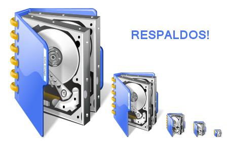 Imagen decorativa con discos duros