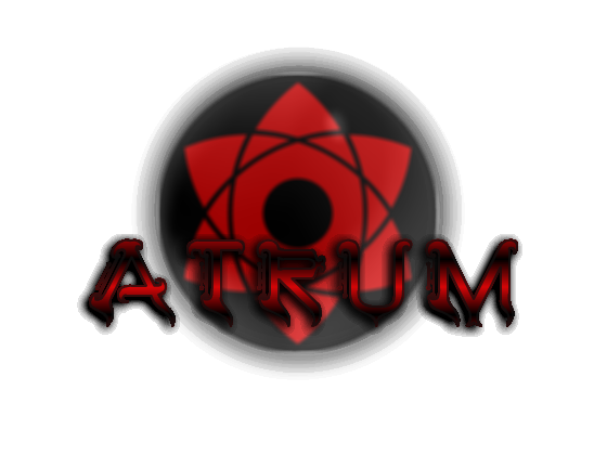Primer logo del blog Atrum