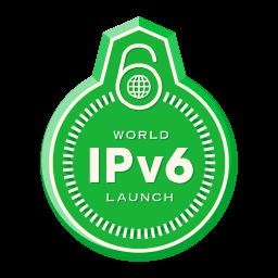 Logo de lanzamiento mundial de IPv6