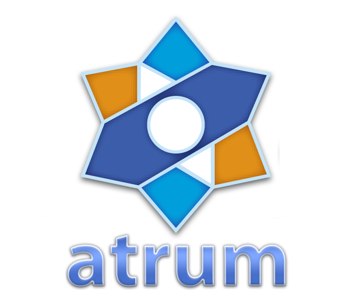 Segundo logo del blog Atrum