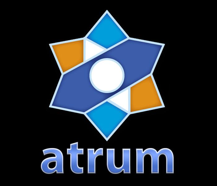 Segundo logo del blog Atrum