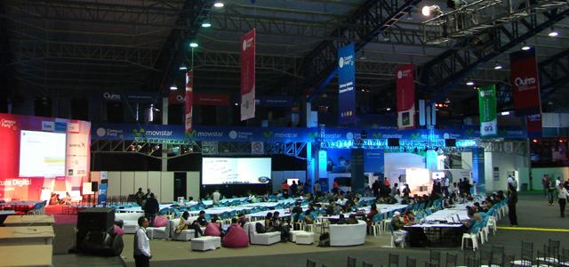 Fotografía de la primera edición del Campus Party Quito 2011