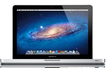 MacBook Pro vista desde frente